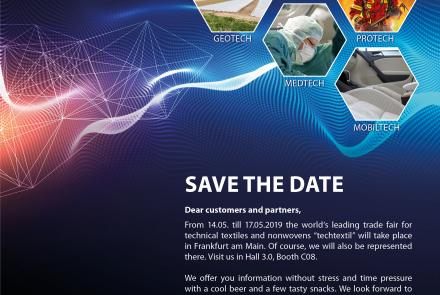 Save the Date - techtextil FRANKFURT a.M.